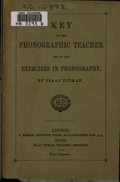 Key to the Phonographic Teacher and to the Exercises in Phonography