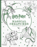 Harry Potter Creatures Coloring Book Book