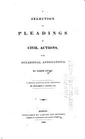 A selection of pleadings in civil actions