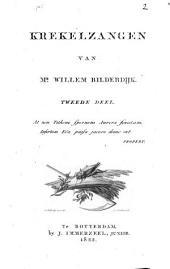 Krekelzangen van Mr. Willem Bilderdijk