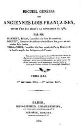 1er Septembre 1715 - 1er Janvier 1737