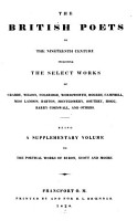 The British Poets of the Nineteenth Century PDF