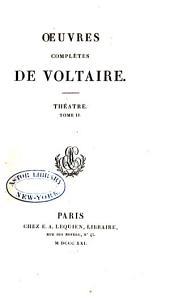 Oeuvres complètes de Voltaire: Volume3