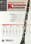 Grifftabelle F  r Klarinette Boehm System  Fingering Charts for Clarinet    French System  PDF