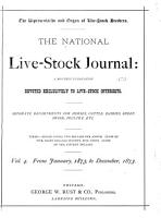 The National Live stock Journal PDF