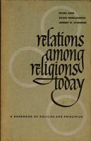 Relations Among Religions Today PDF