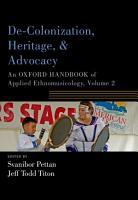 De Colonization  Heritage  and Advocacy PDF