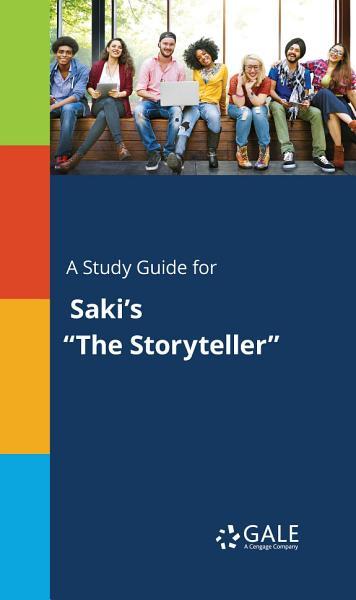 A Study Guide For Sakis The Storyteller