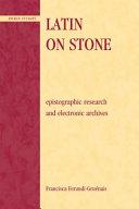 Latin on Stone