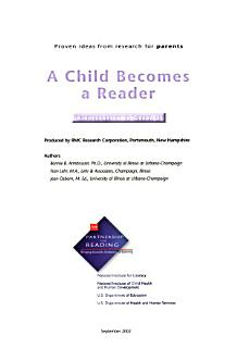 A Child Becomes a Reader Book