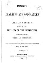 Digest of the Charters and Ordinances of the City of Memphis