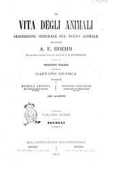 La vita degli animali descrizione generale del regno animale [di] A. E. Brehm: Uccelli, Volume 3