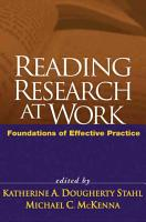 Reading Research at Work PDF