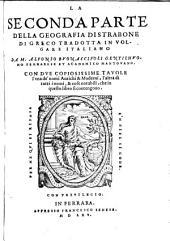 Geographia Di Strabone, Di Greco Tradotta In Volgare Italiano Da M. Alfonso Bvonaccivoli (etc.)