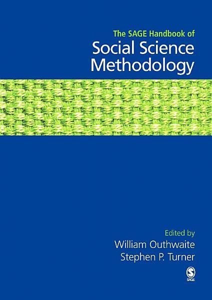 The SAGE Handbook of Social Science Methodology PDF