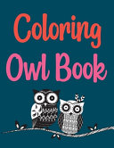 Coloring Owl Book