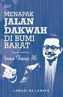Menapak Jalan Dakwah di Bumi Barat  Biografi Pemikiran Imam Shamsi Ali PDF