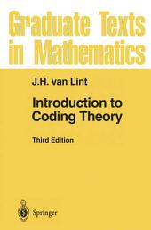Introduction to Coding Theory: Edition 3