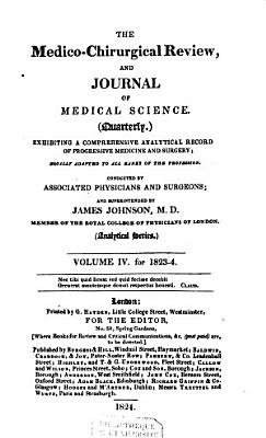 The Medico chirurgical Review and Journal of Medical Science PDF