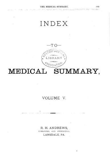 Medical Summary PDF