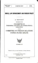 Drugs  Law Enforcement  and Foreign Policy PDF