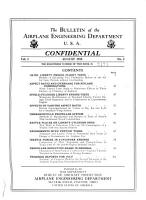 The Bulletin of the Airplane Engineering Department  U S A  PDF