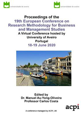 20th European Conference on Research Methodology for Business and Management Studies PDF