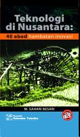 Teknologi di Nusantara PDF