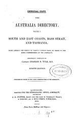 The Australia directory. Vol.1. 5th-10th ed. [With]