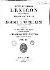 Totius latinitatis lexicon