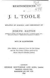 Reminiscences of J. L. Toole