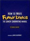 How to Write Funny Lyrics