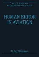 Human Error in Aviation PDF