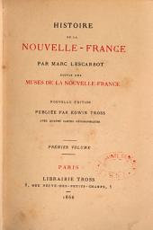 Histoire de la Nouvelle-France: Volume2