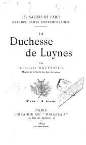 La duchesse de Luynes