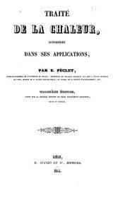 Traité de la chaleur, considérée dans ses applications