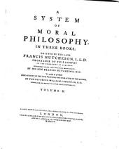 System of moral philosophy: in three books ...