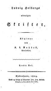 Ludvig Holbergs udvalgte skrifter: Bind 3