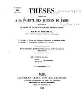 Thèses: Mathématiques, Numéro46