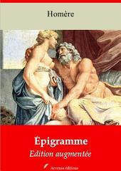 Épigramme: Nouvelle édition augmentée