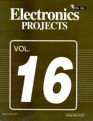 Electronics Projects Vol  16