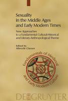 Sexuality in the Middle Ages and Early Modern Times PDF