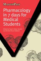 Pharmacology in 7 Days for Medical Students PDF