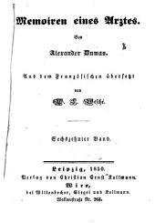 Memoiren eines Arztes: Von Alexander Dumas. Aus dem Französischen von W. L. Wesché, Band 16,Ausgabe 5