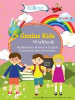 Genius Kids Worksheets  Bundle  for Class 3  Grade 3    Set of 6 Workbooks  English  Mathematics and Science  PDF