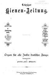 Leipziger Bienenzeitung: Band 16