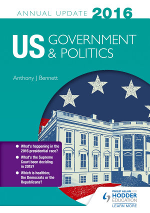 US Government   Politics Annual Update 2016 PDF