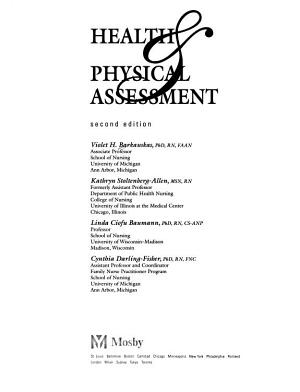 Health   Physical Assessment PDF