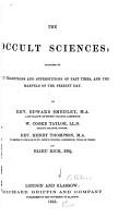 The Occult Sciences PDF