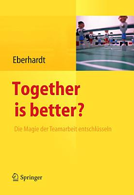 Together is better  PDF